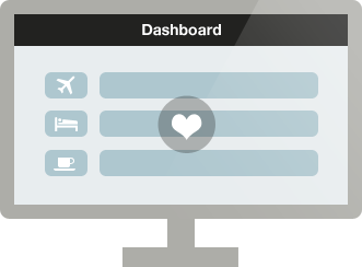 UsingMiles dashboard illustration